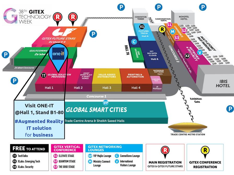 GITEX 2018 MAP